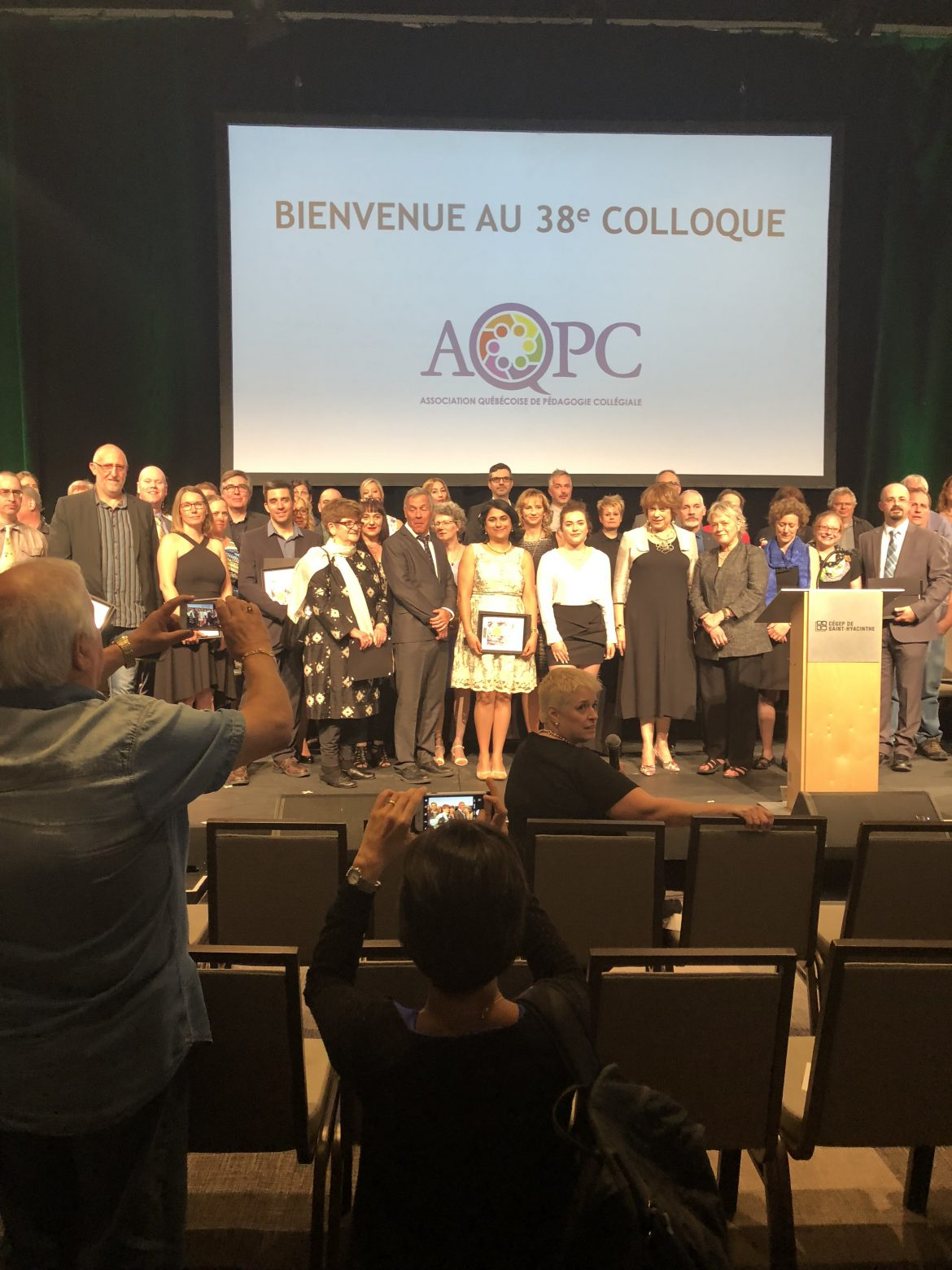 AQPC Ceremony with Quebec Minister of Education